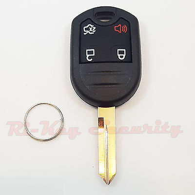 New Replacement Case Shell For Ford Remote Key Keyless Entry Alarm Key 4 Buttons