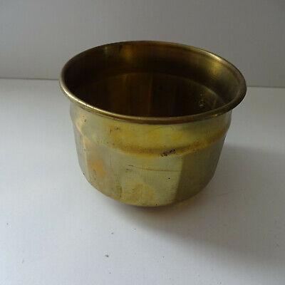 Old Brass Pot Flower Pot Planter Plant Bowl Decoration Garden Brass