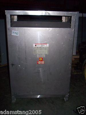 112.5kva Transformer 480v 208v Volt 120v Stainless Steel 3 Phase Delta Wye