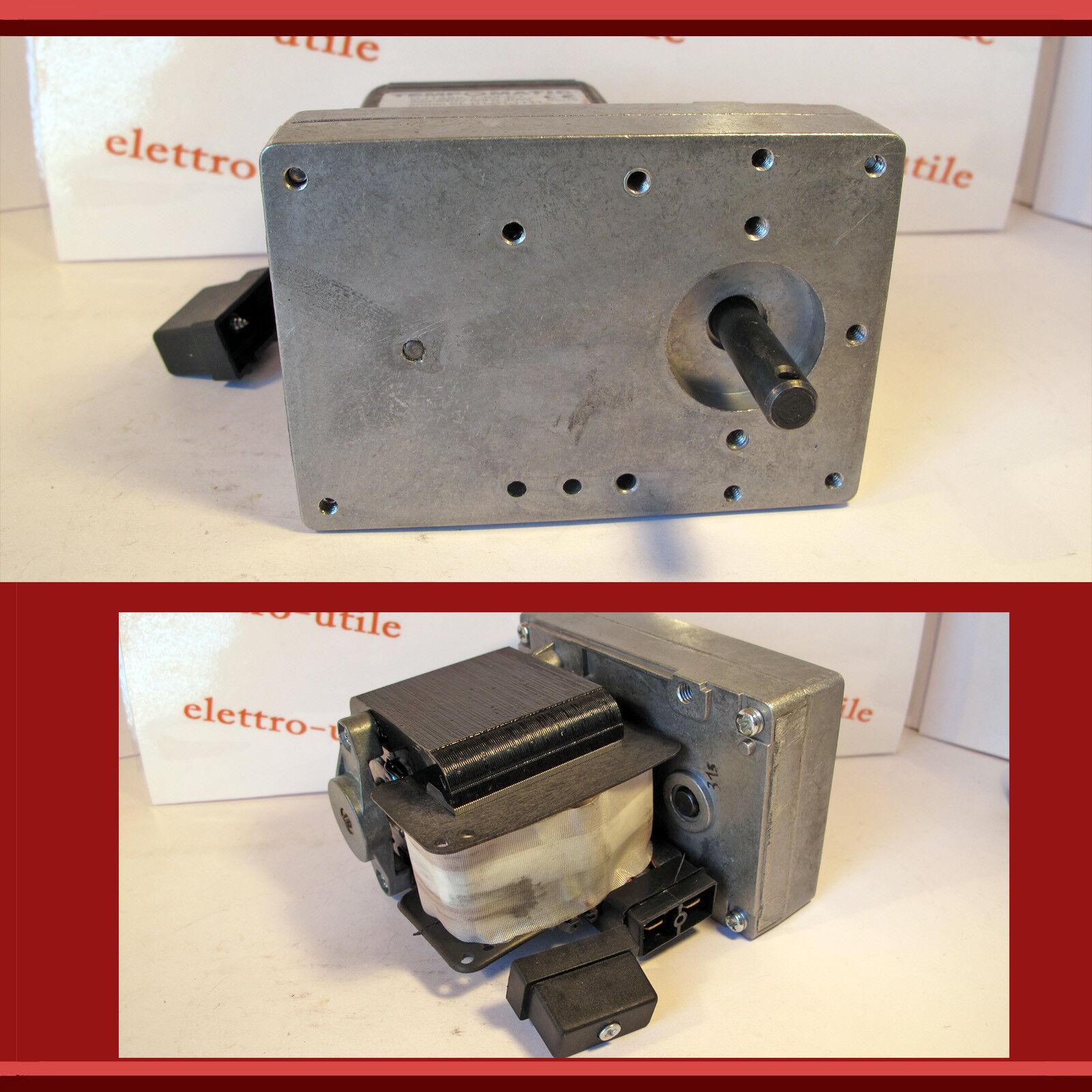 Motore Grill 2 RPM 40W 220V per Girarrosto Barbecue Stufa Pellet Spiedo
