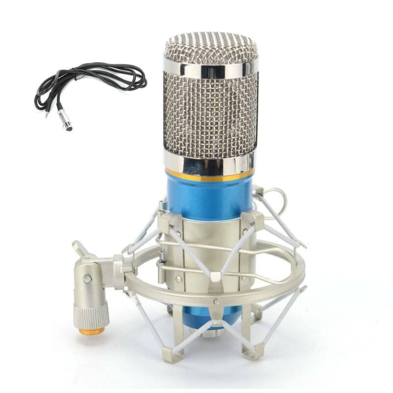 BM-800 Condenser Microphone Kit Broadcasting Studio Recordin