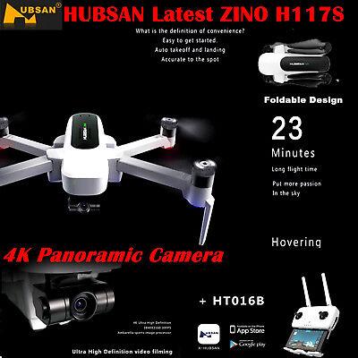 Hubsan X4 H117S ZINO Drone FPV 4K HD Camera Foldable Quadcopter 3 Gimbal GPS RTF