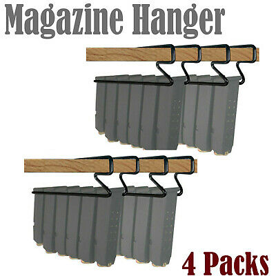 Gun Storage Solutions Universal Handgun Pistol Magazine Hanger Holder 4 Packs/H7
