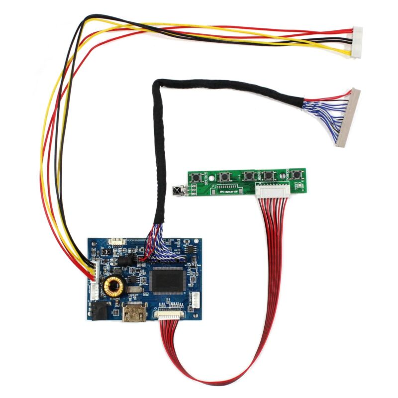 HD MI Audio LCD Controller Board For 19 in G190ETN01.6 1280x1024 LCD Screen