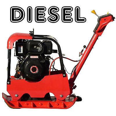 Rüttelplatte 13 PS Dieselmotor 338kg Verdichter Stampfer Bodenverdichter *NEU*