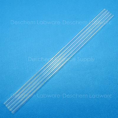 5pcs 300mmquartz Glass Tubeod12mmthcik1.0mmid10mmmade By Fused Silica