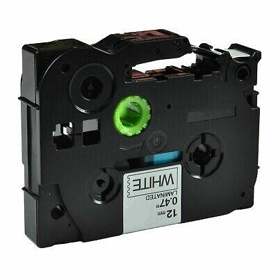 1-pkpack Tze231 Tz231 Blackwhite Label Tape For Brother P-touch Pt-d210 12mm