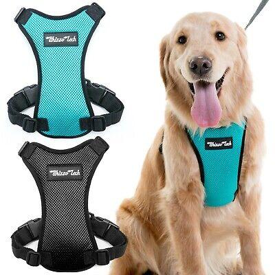 Dog Vest Harness Adjustable Car Safety Mesh Harness Travel Strap Car Seat Belt