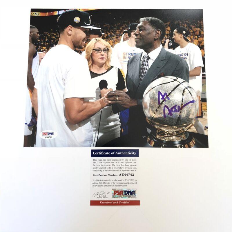 Al Attles signed 8x10 photo PSA/DNA Warriors Autographed