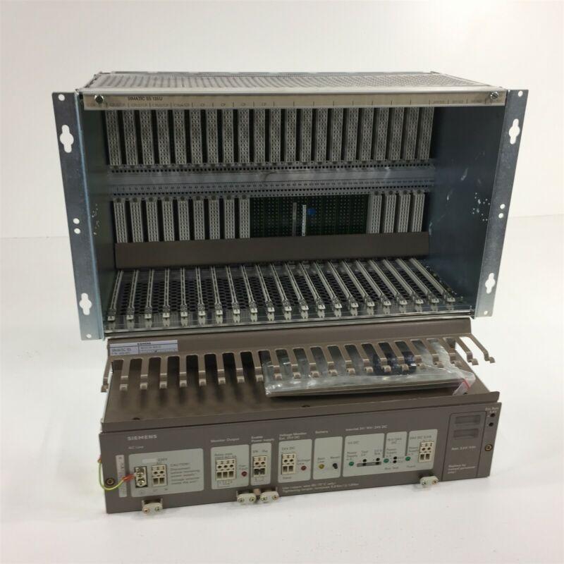 Siemens Simatic S5 135U 6ES5135-3KA13 Rack & Power Supply