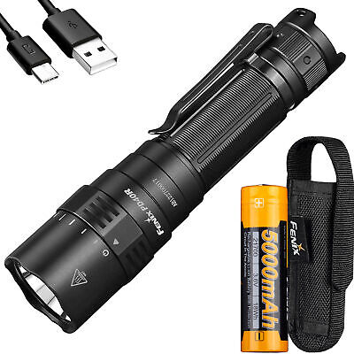 New Tech Junkies 5 LED USB RECHARGEABLE MINI TACTICAL FLASHLIGHT Stainless Steel Pen Light 1000 Lumens W//lanyard /& clip micro usb charger cable included