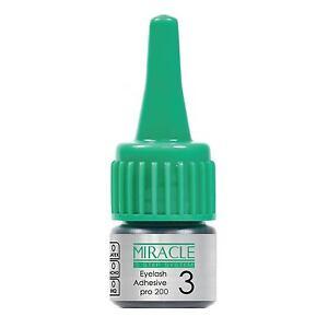 MIRACLE-pro200-Semi-Permanent-Sensitive-Eyelash-Extension-Glue-1D-Classic-Lashes
