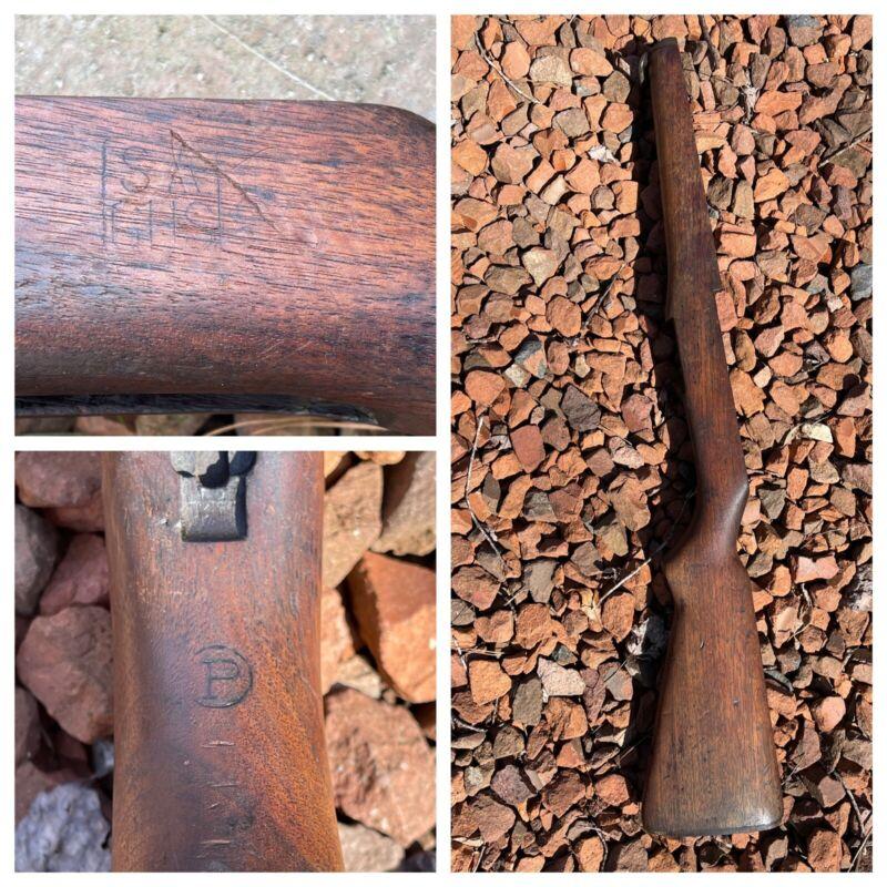 M1 Garand Springfield Armory SA GHS Buttstock Stock USGI 1941 1942