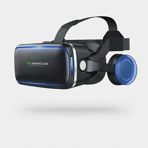VR Reality Headset 360° Virtual 3D Glasses Goggles Mobile Phone + Remote Control