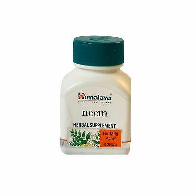 Himalaya Neem Herbal Supplement For Skin Allergies 60 Tablets
