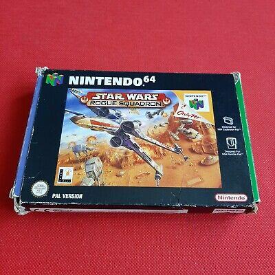 Nintendo 64 Star Wars Rogue Squadron N64 PAL Video Game