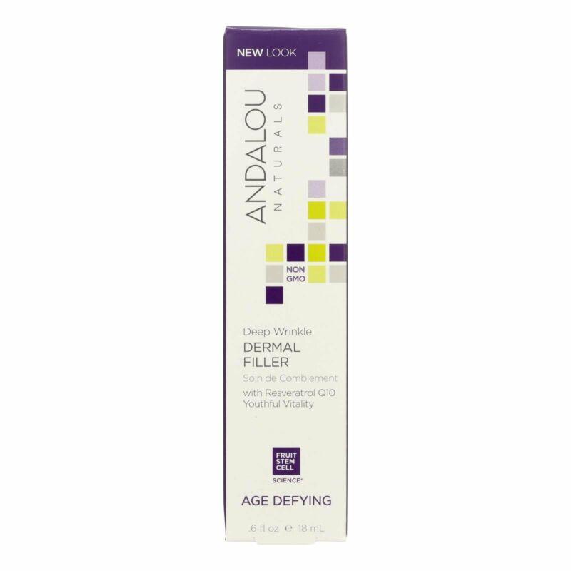 Andalou Naturals Age Defying Deep Wrinkle Dermal Filler - 0.6 fl oz Pack of 1