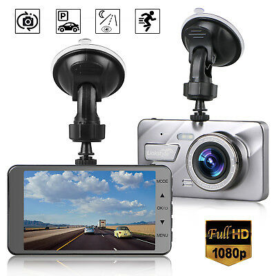 4  Vehicle 1080P Car Dashboard Dvr Camera Video Recorder Dash Cam G Sensor