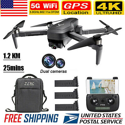 SG906 PRO GPS RC Drone W/Camera 4K 5G Wifi 2Axis Quadcopter MV Gesture Photo USA