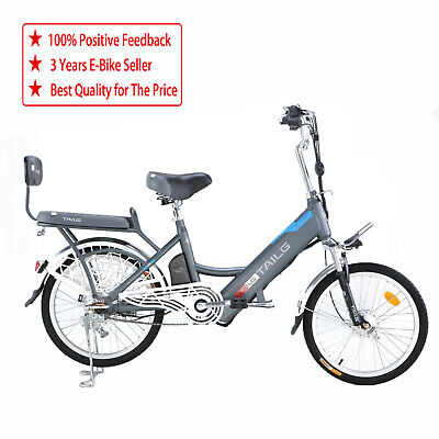 "Electric Bike Built In 48V Battery Lithium Battery THROTTLE TWIST GO 20"" *New*"