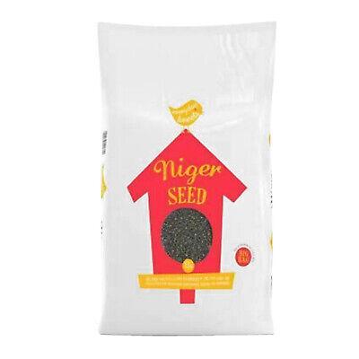 Wild Bird Mix Peanuts Niger Seed Sunflower Hearts Bulk Bags Feed Food 13kg