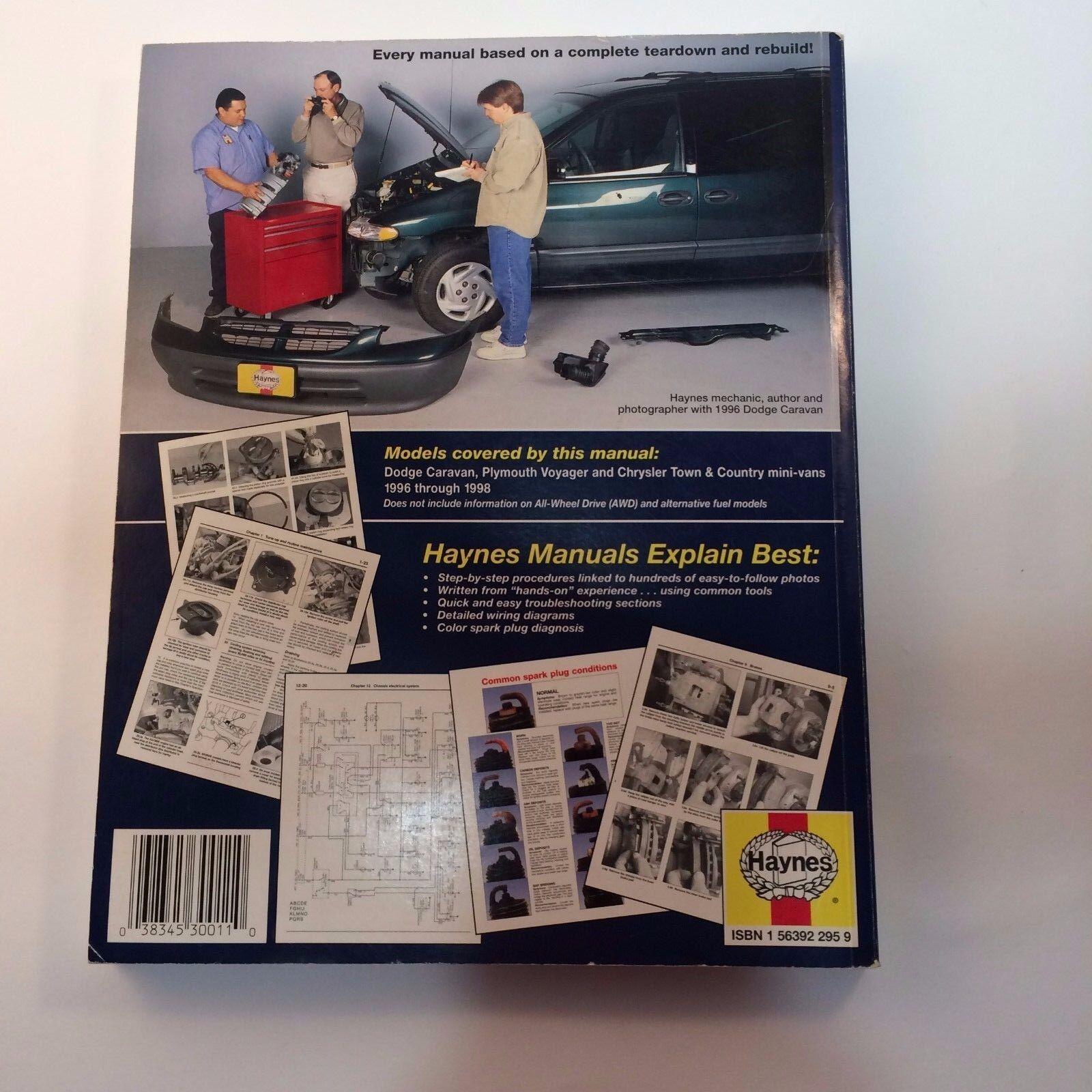 chrysler grand voyager workshop manual download