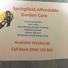 Lawn mowing Springfield Ipswich City Preview