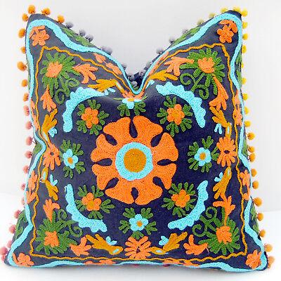 "Подушка 16x16"" Uzbekistan Pillowcase Suzani Cushion"