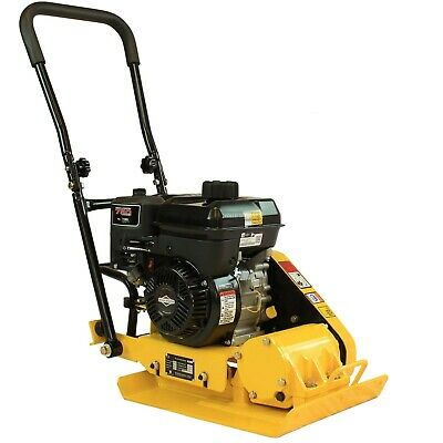 5hp Walk-behind Vibratory Plate Compactor Asphalt Soil Tamper Briggs Stratton