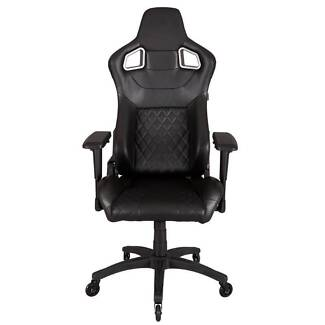 Corsair T1 Race Office Computer Gaming Chair Black Assembled NEW