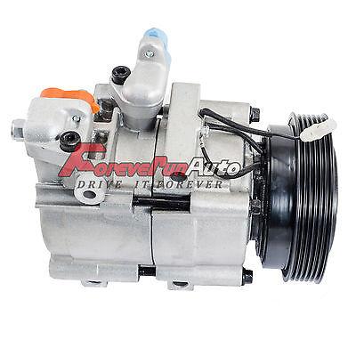 A/C AC Compressor Fits Hyundai Santa Fe 2001-2006 2.7L (HS18) 57183