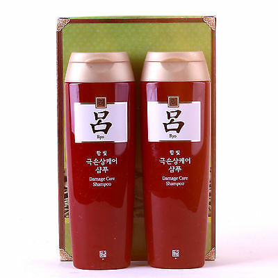 New KOREA AMOREPACIFIC Ryo Damage Care shampoo 180ml (6.34 oz) x 2 pcs