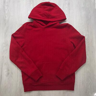 GAP Mens/Unisex Vintage Red Sueded Fleece Hoodie Size XS