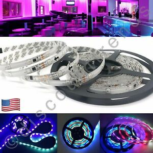 Led chasing lights ebay 2811 waterproof chasing dream color 5050 led strip light 5m 164ft rgb 150 leds mozeypictures Image collections