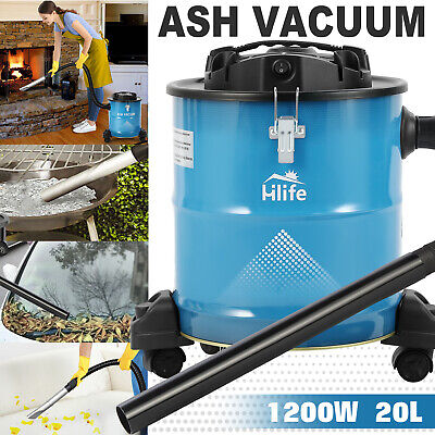 Ash Vacuum Cleaners W3 Brush Headsfilter For Fireplacescarbbq Dry Dust