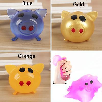 1Pc Anti-stress Decompression Splat Ball Vent Toy Smash Various Pig Toys Super - Splat Toy