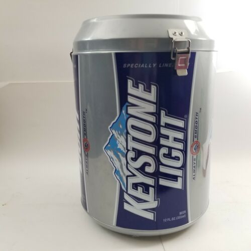 GIANT CAN VINTAGE KEYSTONE LIGHT Beer Brewery Advertising Cooler COOL