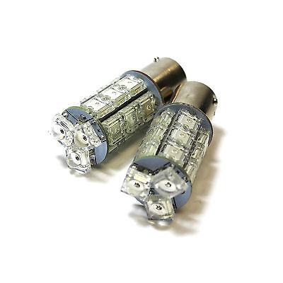 2x Lada Kalina 18-LED Front Indicator Repeater Turn Signal Light Lamp Bulbs