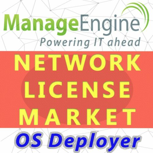 ManageEngine OS Deployer License - Permanent,Unlimited,Professional Edition