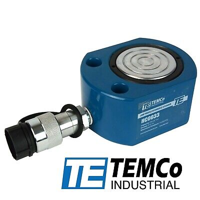 Temco Hc0033 Low Profile Height Hydraulic Cylinder Puck 30 Ton 0.51 Stroke