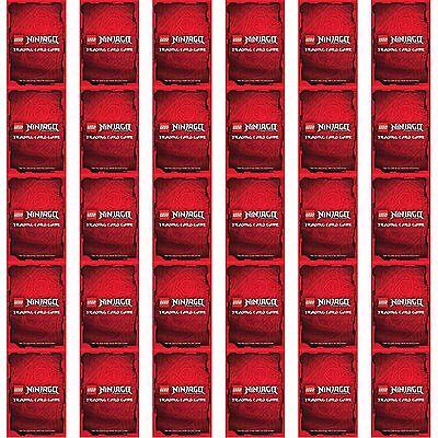 Lego® Ninjago™ Serie 2 (2017) 30 verschiedene Basis Sammelkarten keine doppel