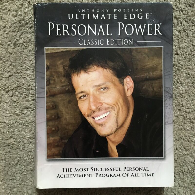 Anthony Robbins Ultimate Edge Personal Power Classic Edition Part II 7 CD Set