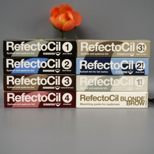 RefectoCil Professional EYELASH EYEBROW TINT Dye Henna All Colors -CHOOSE COLOR-