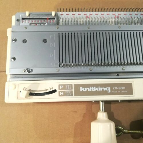 NOT COMPLETE READ DESC Brother Knit King KR900 / KR850 Knitting Ribbing Machine