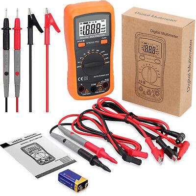 Digital Multimeter 2000 Counts Ac Dc Current Resistance Voltmeter Meter Tester