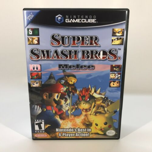 GameCube Replacement Case - Case Only NO GAME - Super Smash Bros. Melee