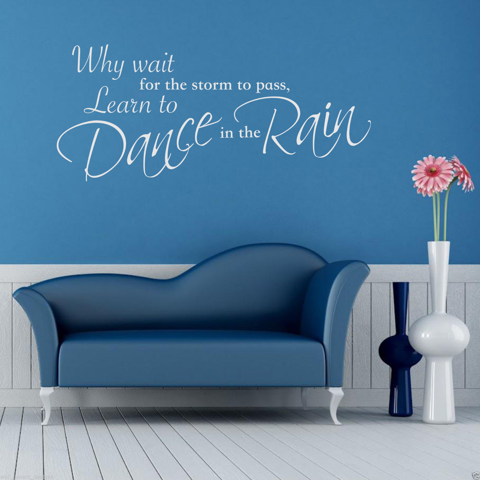 Wall Art Quotes Dance In The Rain : Dance in the rain wall art sticker lounge quote decal