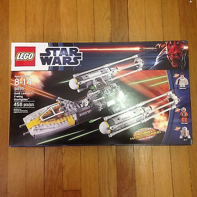 Lego Star Wars Gold Leaders Y Wing Starfighter 9495