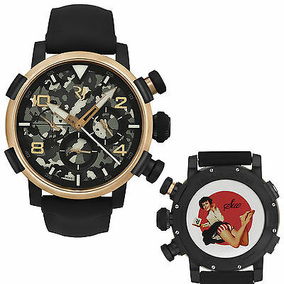 Romain Jerome Pinup DNA Gold WWII Sue Barefoot Chronograph Auto RJ.P.CH.003.01