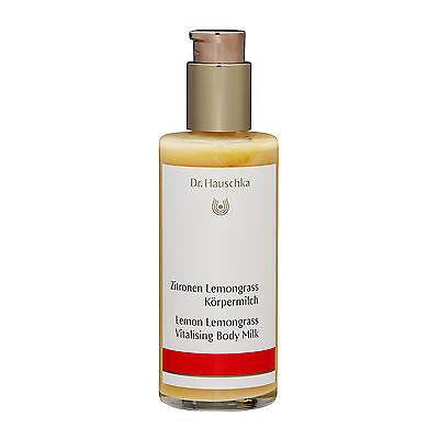 - Dr. Hauschka Lemon Lemongrass Vitalising Body Milk 145ml Moisturizer NEW #14908